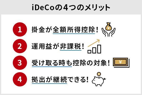 iDeCo メリット,イデコ メリット